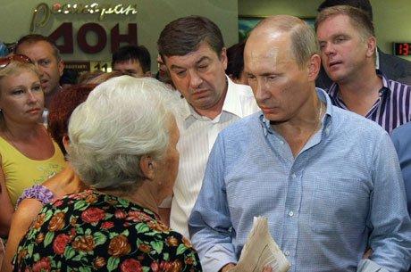 Владимир Путин встретился с пострадавшими от пожаров в Воронеже
