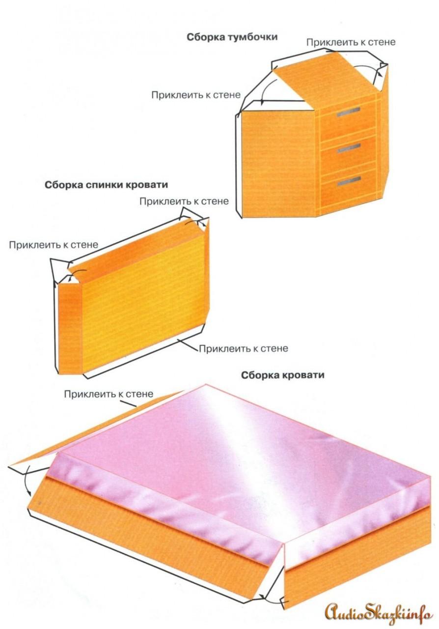 Как сделать комнату из бумаги своими руками