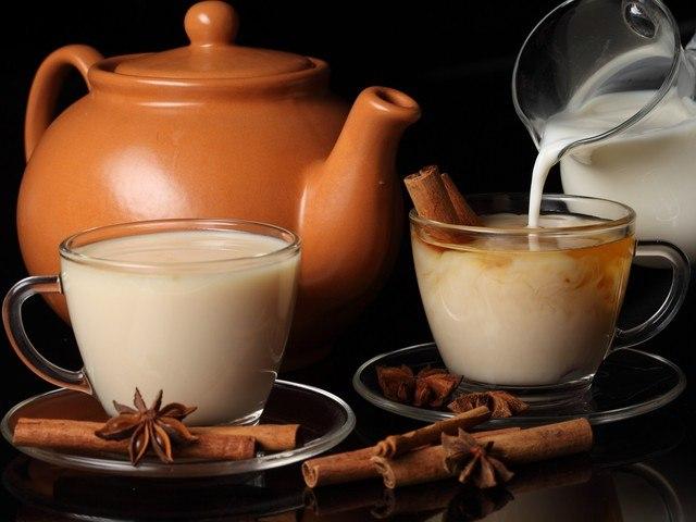 Молоко со специями дарит здоровье
