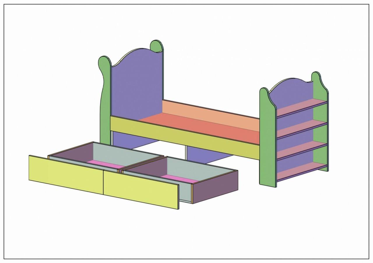 Детская кровать своими руками: преимущества изготовления 36