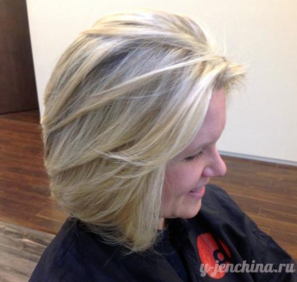 стрижки на средние волосы фото каскад