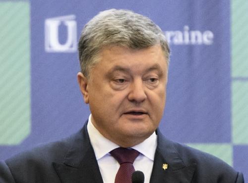 """Порошенко заявил, что """"фантастический"""" украинский народ возвращается в ЕС"""