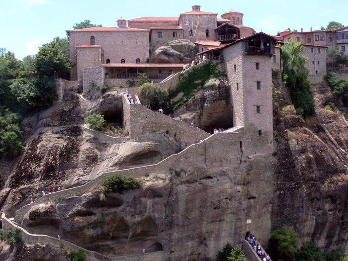 Фото Монастыри Метеоры, Греция. 10 (700x525, 88Kb)