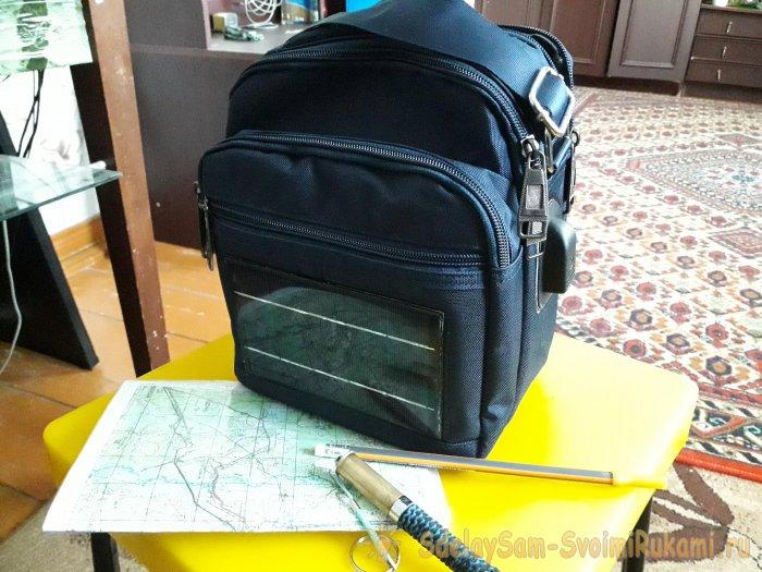 Как сделать сумку с автономн…
