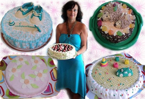 Мои торты 2011 года. фото-отчет.