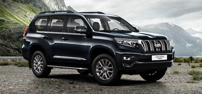 Toyota Land Cruiser возглави…