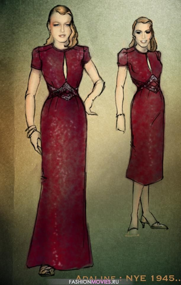Одеть бессмертную: дизайн костюмов для фильма «Век Адалин»