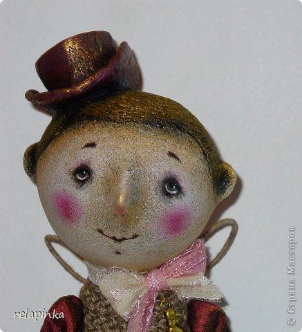 Игрушка Куклы День рождения Папье-маше Шитьё Ангел Ткань фото 2