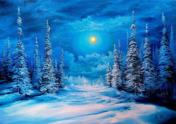 Не пропустите эту красоту, так щедро нам дарованную Свыше! Художники о зиме