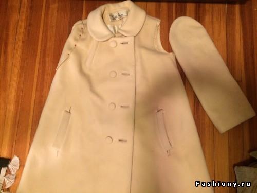 Как перешить рукава в пальто