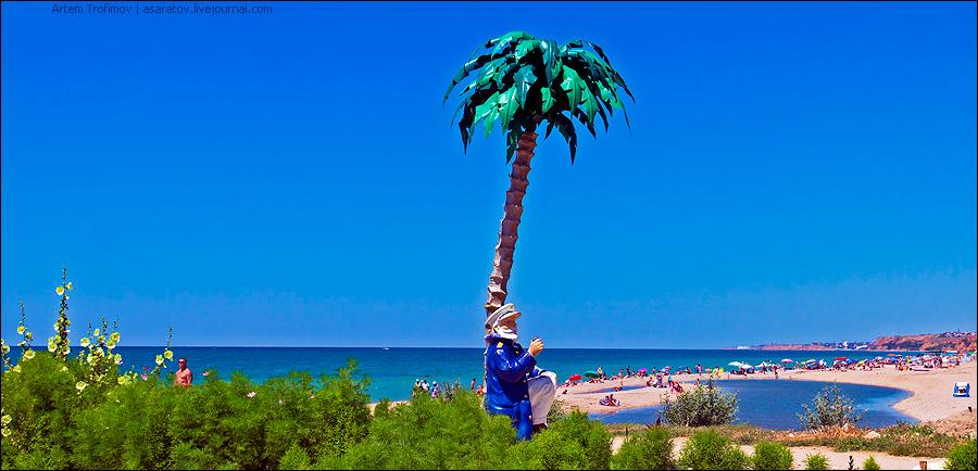 404. Украинец на пляже росси…