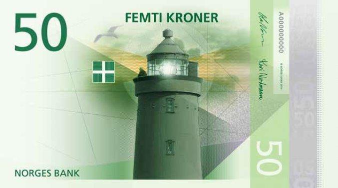 новые норвежские банкноты 11