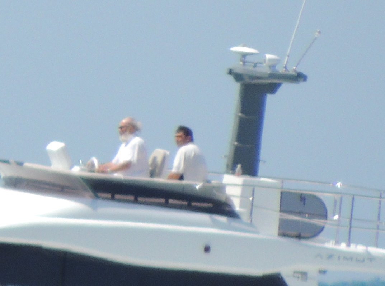 Садальский :А чем Гундяев хуже Абрамовича? Тоже любит прогулки на яхте.