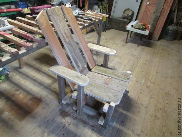Мастерим кресло для сада