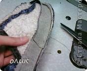 Мастер-класс Шитьё Домашние тапочки для себя и для гостей Кожа Мех Ткань фото 17