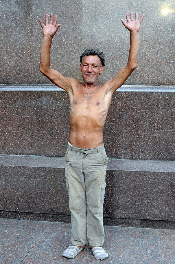55 летний львовский бомж самый модный бездомный в мире (14)