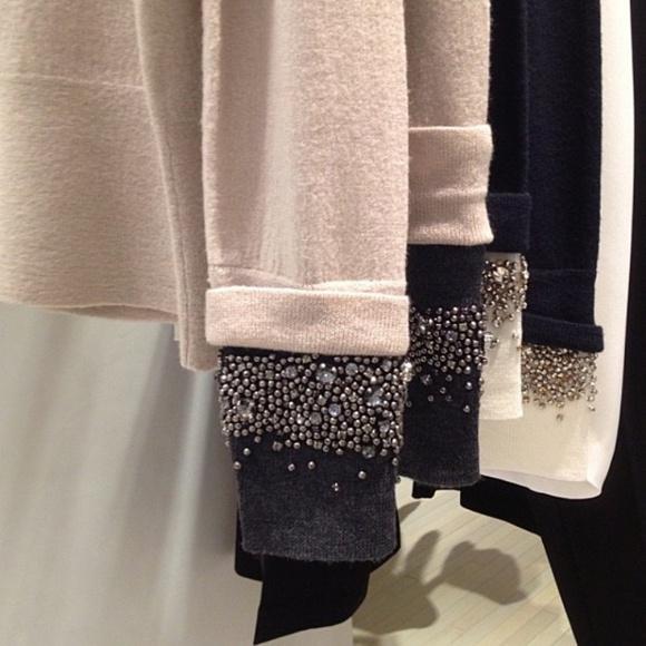 Как удлинить рукава свитера