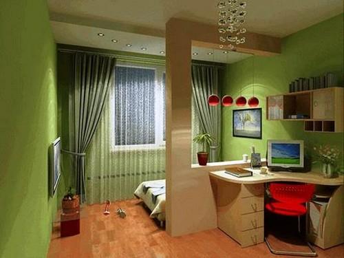 Делим комнату на две зоны