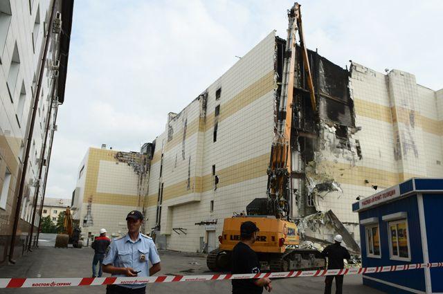 Продлен арест ответственного за пожарную систему в ТЦ «Зимняя вишня»