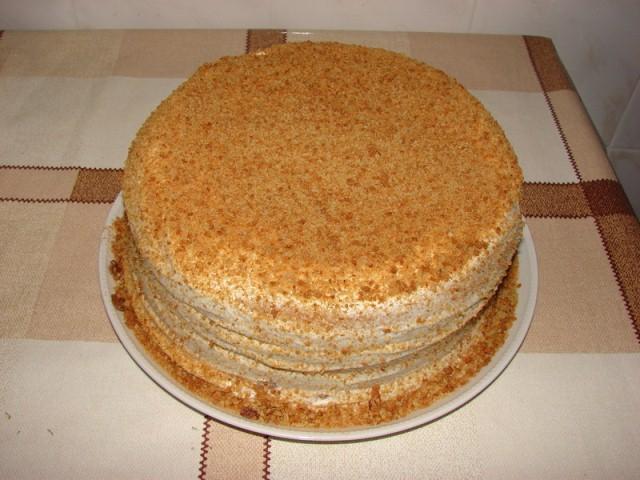сметанный торт рецепты фото