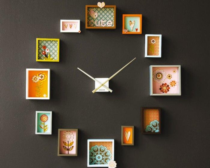 Настенные часы своими руками из фотографий - Zdravie-info.ru