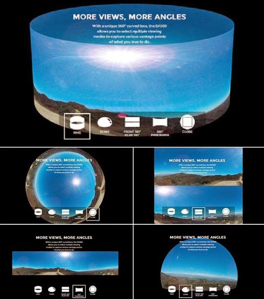 Экшн на 360 градусов — камера Kodak SP360  - Фото 3