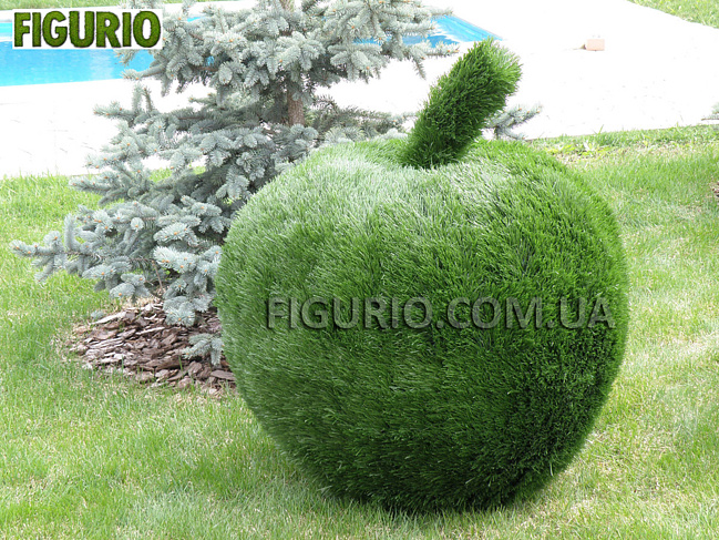 Фигуры из искусственной травы для сада своими руками 5