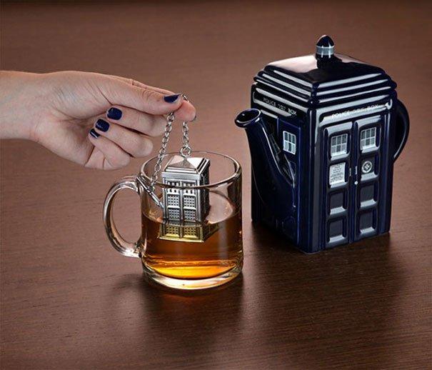 Чайник для заварки в английском стиле
