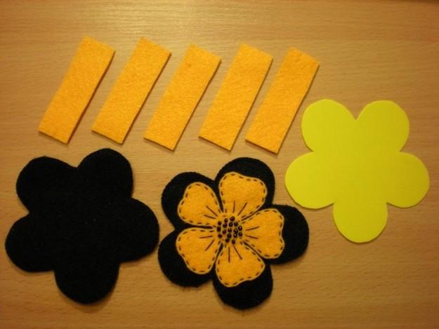 картинка игольница-цветок своими руками