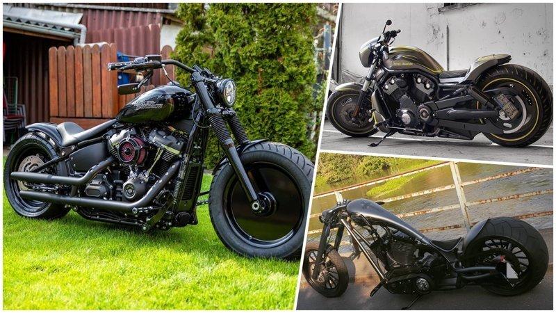 Крутые кастомы на основе Harley-Davidson