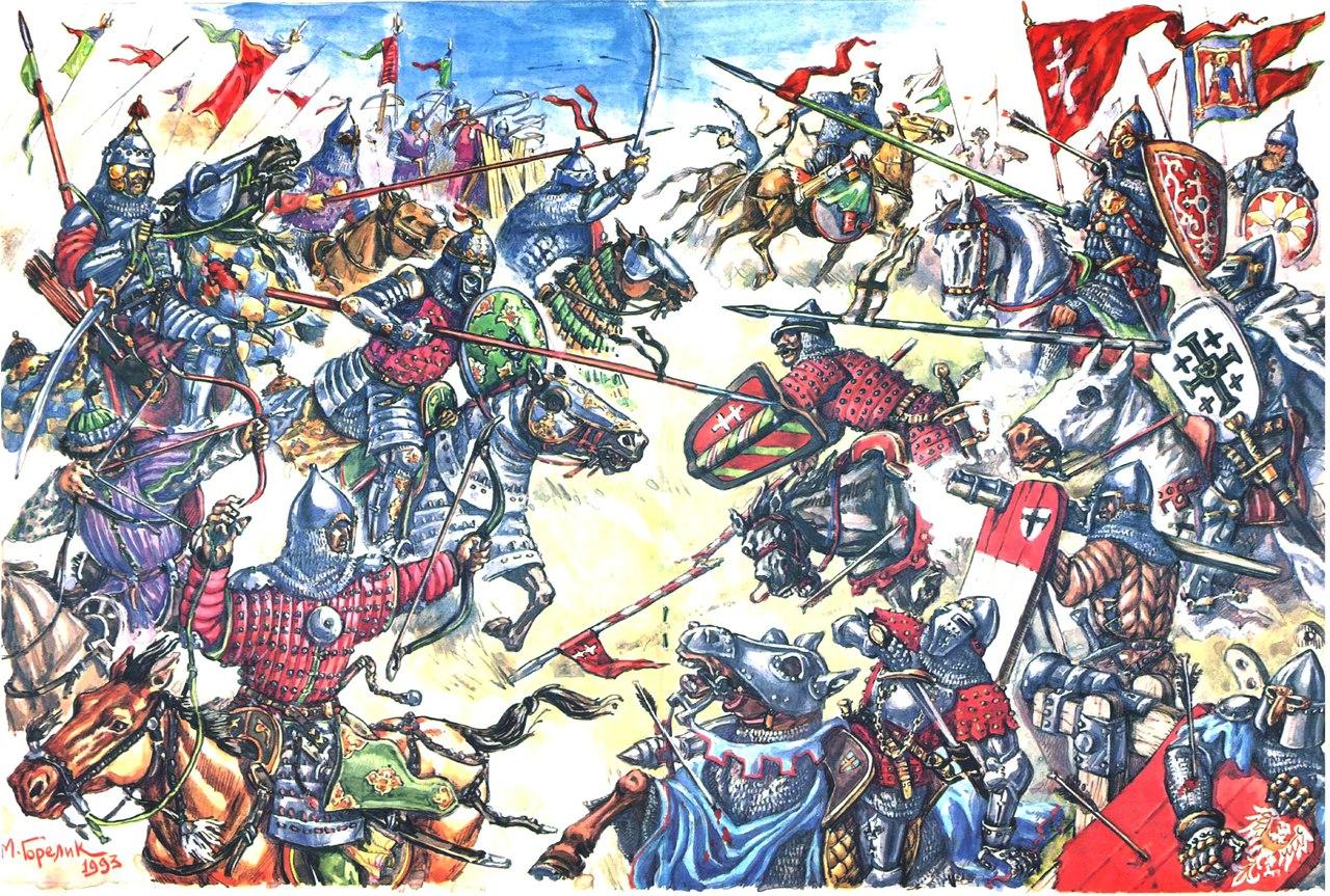 Битва на Ворскле 1399