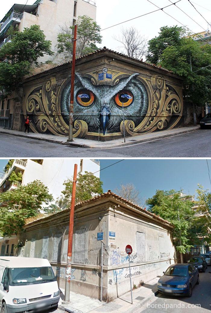 Эти художники превратили облезлые дома в произведения искусства