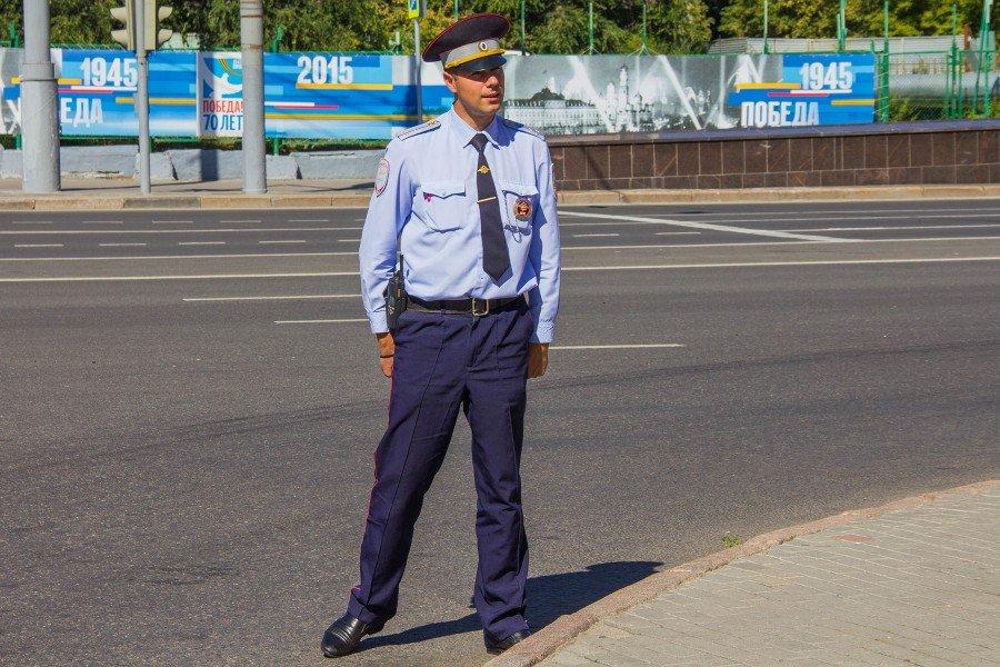 День с инспектором ГИБДД