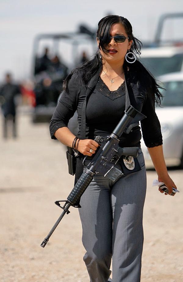 Женщины-полицейские разных стран мира
