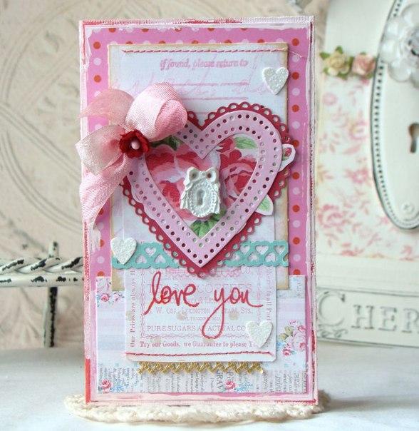 Не забываем подготовить валентинку на день влюбленных