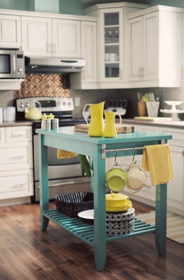 Кухонный столик островок без колес