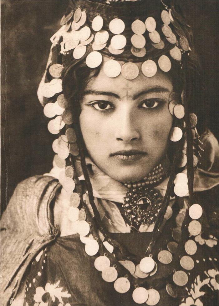 Иудейки Магриба –  редкие  фото начала 20 века