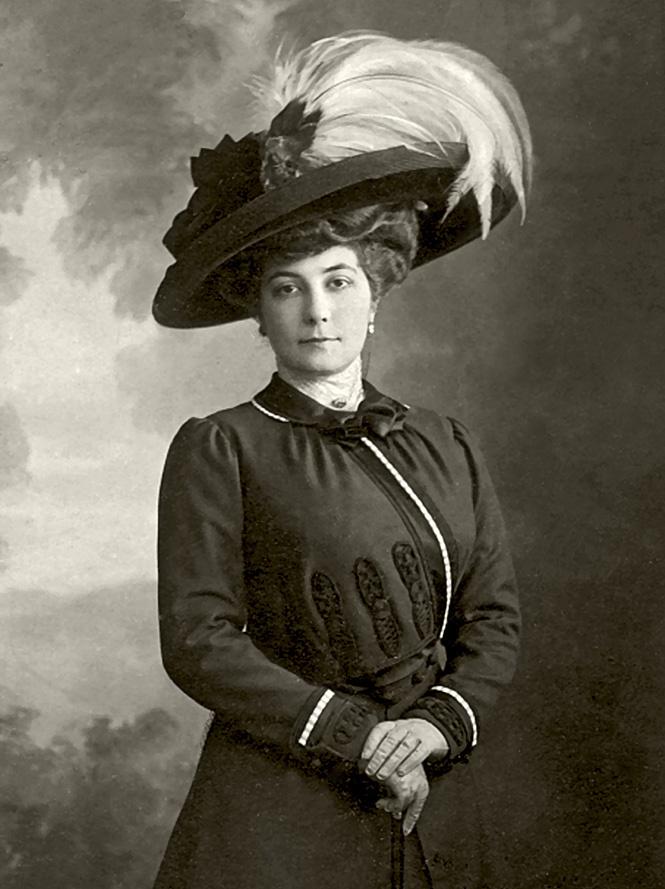 Жена Елена. 1900 год