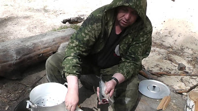 Копчение рыбы в мантоварке