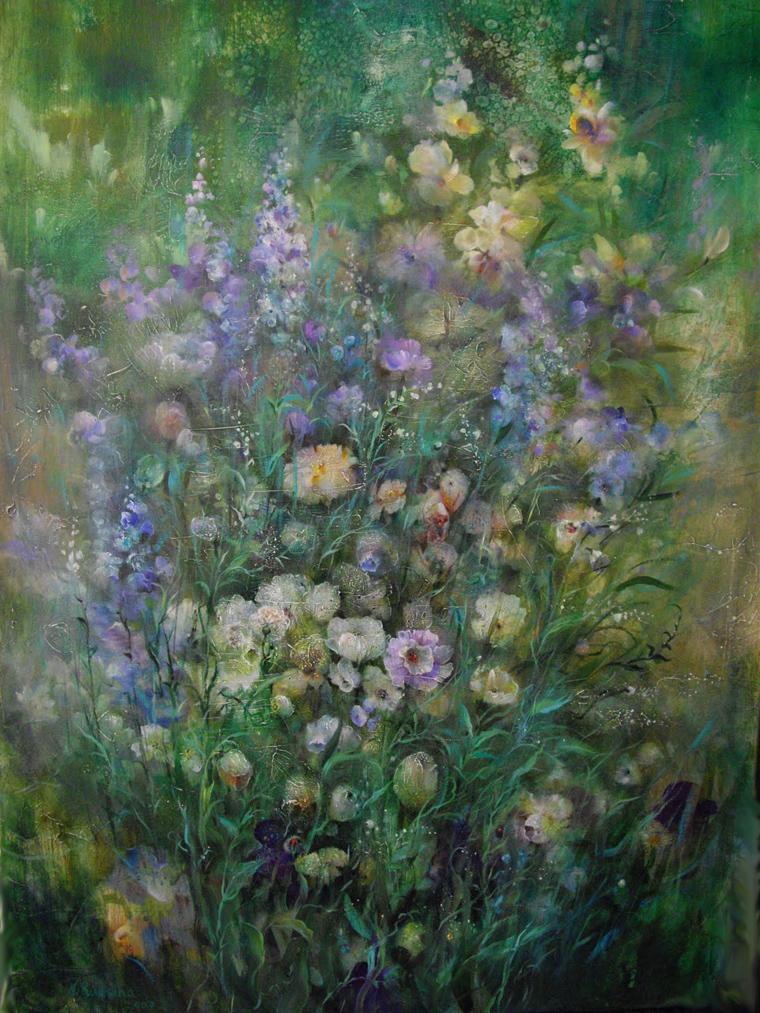 «Голоса травы»: восхитительные картины Наталии Рудзиной