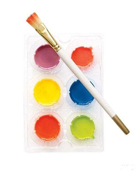 Как сделать краски для рисования