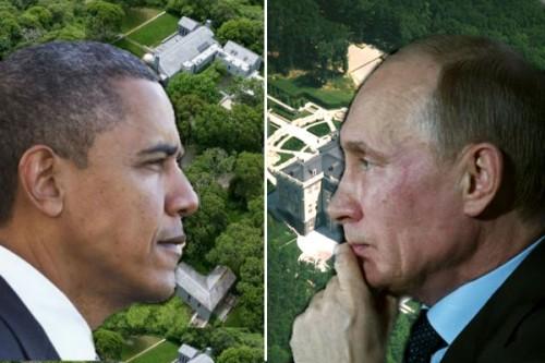 """Летние резиденции Путина и Обамы сравнили по шкале """"крутости"""""""