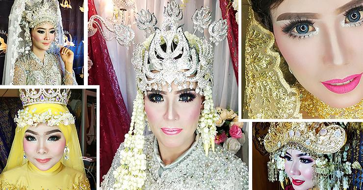 Адовые свадьбы: как красят невест для фотосессии в Азии?