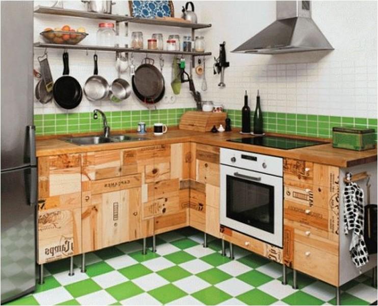Ну очень простые идеи как обновить кухню!