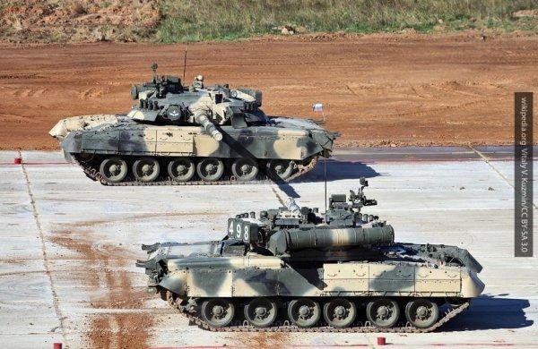Российские танки Т-80 для арктических частей получат двигатели с функцией форсажа