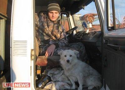 Собака спасла пропавшего в лесу ребенка-инвалида