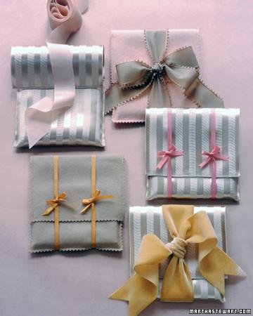 красивое оформление подарков