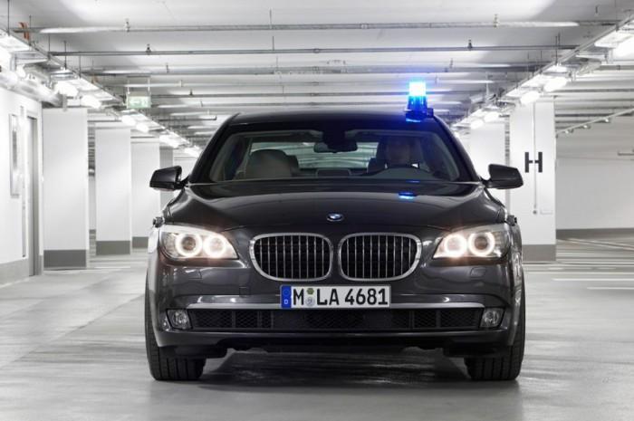 BMW 750 Li Sedan.