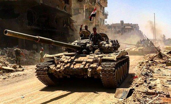 Сирийские войска уже ничто н…