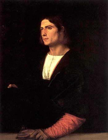 Тициан. Юноша в шляпе и с перчатками